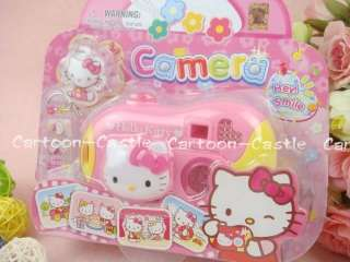 Hello Kitty Kids Plastic Toy Digital Camera Model Pink