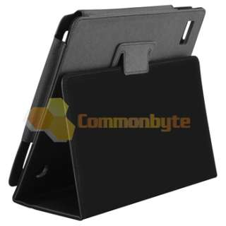 FOLIO LEATHER STAND POUCH CASE FOR ACER ICONIA TAB A500