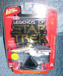 Johnny Lightning Star Trek series 4 ENTERPRISE 1701 D BATTLE DAMAGED