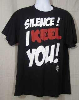 Mens Jeff Dunham T Shirt Achmed Silence I Keel You XL