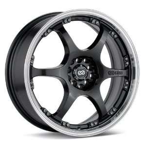 ES6 (Gunmetal w/ Machined Lip) Wheels/Rims 4x100/108 (431 670 1138GM