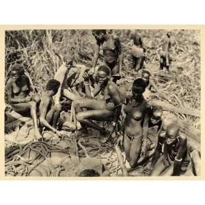 1930 Nuer Girls Women Sudan Africa Hugo Adolf Bernatzik