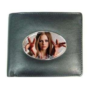 Avril Lavigne Mens Leather Wallet Credit Card Gift