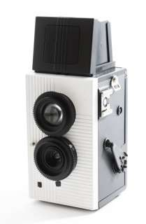Blackbird fly TLR Twin Lens Reflex WHITE Camera Superheadz NEW