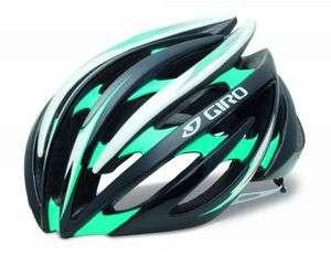 Giro Aeon Black/Turquoise Bike Helmet Size Large