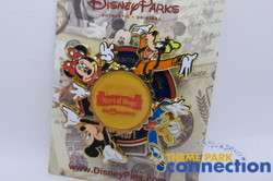 Walt Disney World 40 Years of Magic Lenticular Spinner WDW Pin