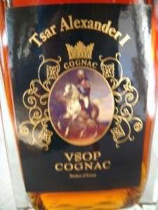 Tsar Alexander I VSOP Cognac   Rare Collector Edition