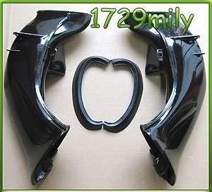 04 05 06 YZFR1 R1 YAMAHA Ram Air Intake Tube Duct BK