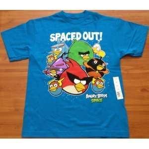 Angry Birds Spaced OUT Limited Edition T shirt Secret Code Mens Size