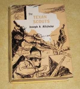 TEXAS TEXAN SCOUT BOOK ESQUIRE MINI COWBOY CAP GUN TOY LEATHER STUDDED