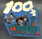 Disney Pin Tokyo Disneyland Mickey/Alice/Dopey Train 100 Years of