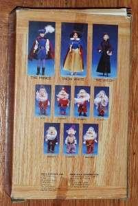 Old Disneys Snow White 7 Dwarfs Dopey DOLL NRFB