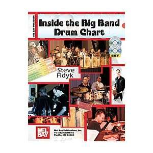 Inside The Big Band Drum Chart Book/CD/DVD Set Musical