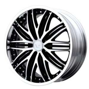Venti Plus VP106 20x8.5 Black Wheel / Rim 5x4.5 with a 40mm Offset and
