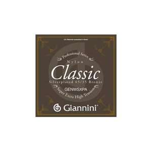 Giannini Classical Guitar Classic Series Super Extra High