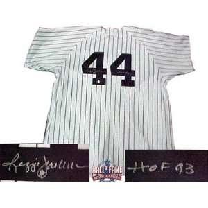 Reggie Jackson Autographed/Hand Signed New York Yankees Home Baseball