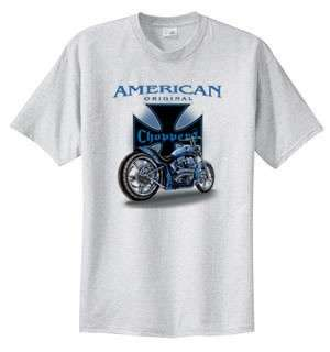 American Original Chopper Biker T Shirt S  6x