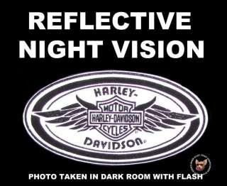 HARLEY DAVIDSON WINGED BAR SHIELD SUPERSTAR NIGHT VISION PATCH ** MADE