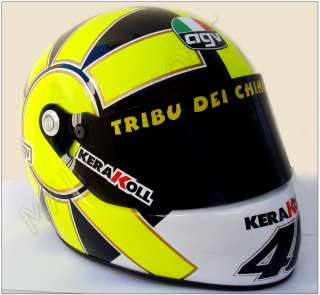 VALENTINO ROSSI MOTO GP 46 REPLICA HELMET SCALE 11 NEW