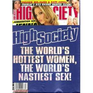 2011 JENNA HAZE, SNOOKIE JERSEY SHORE: HIGH SOCIETY MAGAZINE: Books
