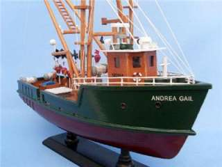 ANDREA GAIL Perfect Storm FISHING BOAT MODEL DISPLAY