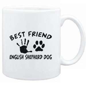 Mug White  MY BEST FRIEND IS MY English Shepherd Dog