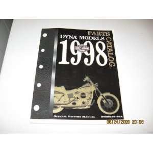1998 Harley Davidson Dyna Models Parts Catalog Harley Davidson Motor