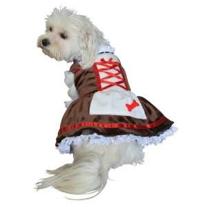 Anit Accessories Beer Girl Dog Costume, 16 Inch: Pet