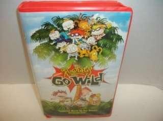 Rugrats Go Wild   VHS kids cartoon Movie Video Tape 097363405238