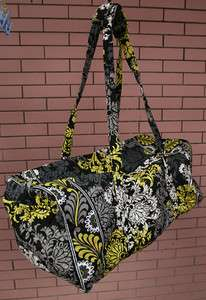 NEW Vera Bradley Baroque EXTRA Large Duffel   Limited bag multi colors
