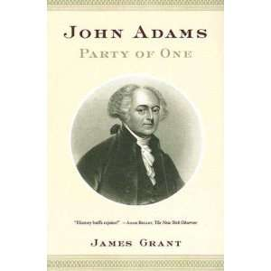 com John Adams Party of One ( Paperback )  Author   Author  Books