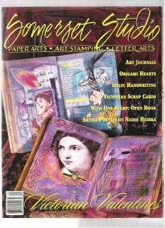 /FEB 1999 VICTORIAN VALENTINES   ART JOURNALS, ORIGAMI HEARTS