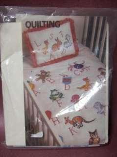 Vtg ArtCraft Concepts Sweet Dreams Baby Pillow Kit