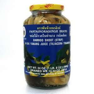 Pantai Norasingh Bamboo Shoot (Strip) In Bai Yanang Juice 24 oz