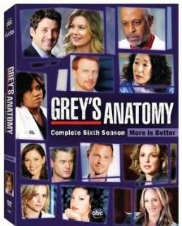 Anatomy   Season 5 by Abc Studios, Ellen Pompeo, Patrick Dempsey  DVD