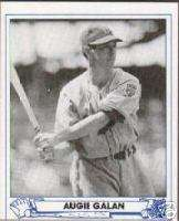 1944 Play Ball # 42 Augie Galan Brooklyn Dodgers