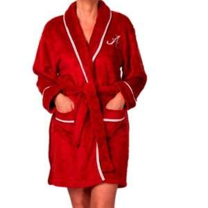 Alabama Crimson Tide Bama Womens Bathroom Plush Bath Robe