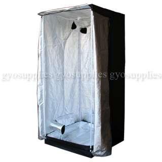 Reflective Mylar Hydroponic Grow Tent 3x3 Budd Box