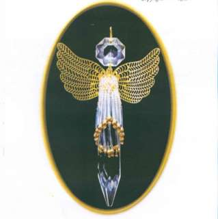 Crystal Angel Beaded Ornament Kit Delica & Crystal U Drop Beads