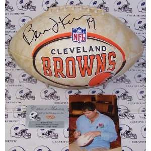 Bernie Kosar   Autographed Cleveland Browns Full Size