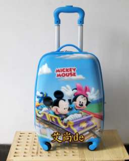 Mickey Mouse 18 Luggage Bag Baggage Trolley Roller