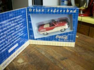 COCA COLA METRO DIE CAST MINI PEDAL CAR LIMITED EDITION NIB