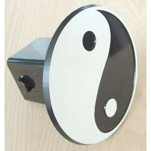 Yin Yang Trailer Hitch Cover Receiver Plug for Cars