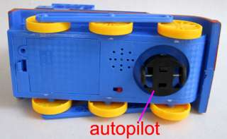 Real sound Flash Autopilot Kids Thomas Train Toy #8928