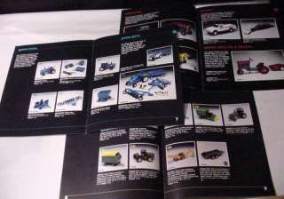 ERTL 1985 BLUEPRINT REPLICAS Sales Lit DEERE, FORD+ Toy Tractors Farm