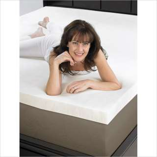Aerus Natural Eco Friendly 2 Thick Memory Foam Mattress Topper