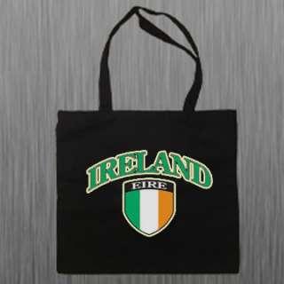 Ireland Irish Flag Book Bag Shoulder Canvas Tote Bag