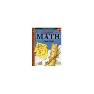 Notebook Reference Math Fact Book byPublishing Publishing