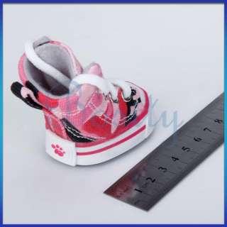Pet Dog Canvas Sport Shoes Boots Sneakers Clothes Sz 5#