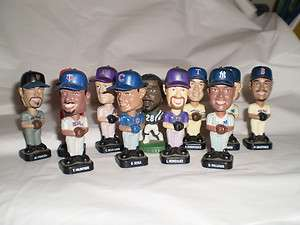 Fotoball Mini Baseball Bobble Heads and Bonus TOP SPORT PLAYERS
